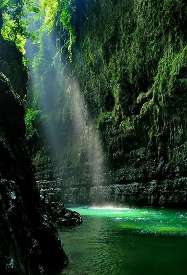 Green Canyon, Pangandaran, West Java, Indonesia