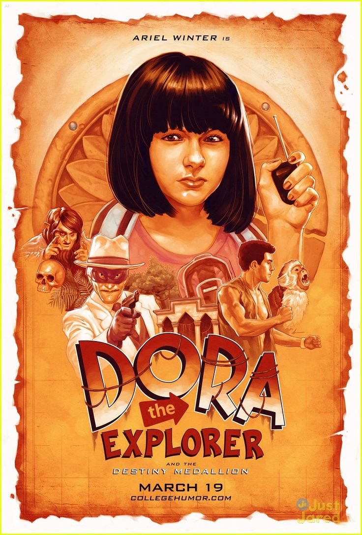 Not a Dora fan, but this poster is awesome.
