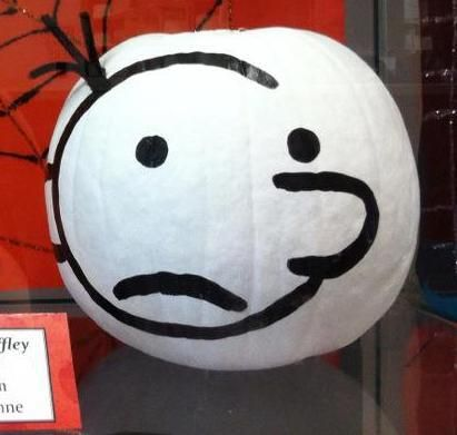1000 images about literary pumpkins on pinterest for Diary of a wimpy kid crafts