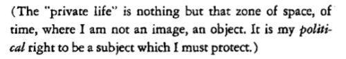 ●●●▬ // Roland Barthes, 'Camera Lucida'