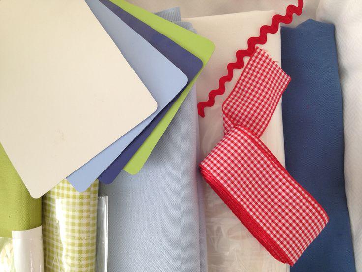 Paleta de colores para proyecto recamara de niño