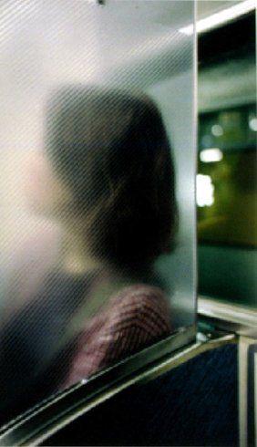untitled (mika on subway), 2001 • william eggleston