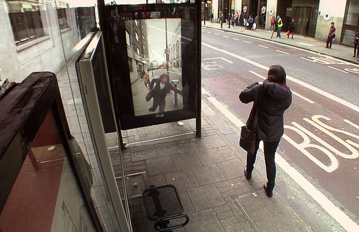 It Looks Like A Normal Bus Stop…But It's Not. The Results Are Brilliant! - PHUNRISE
