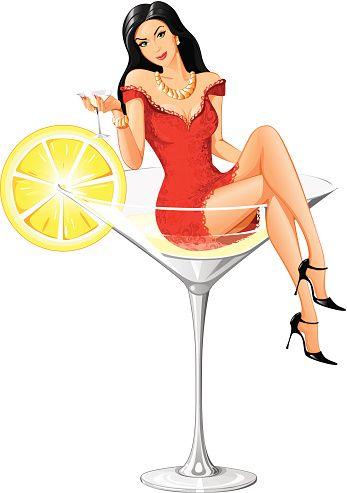 Прелестный Martini женщина - новая версия