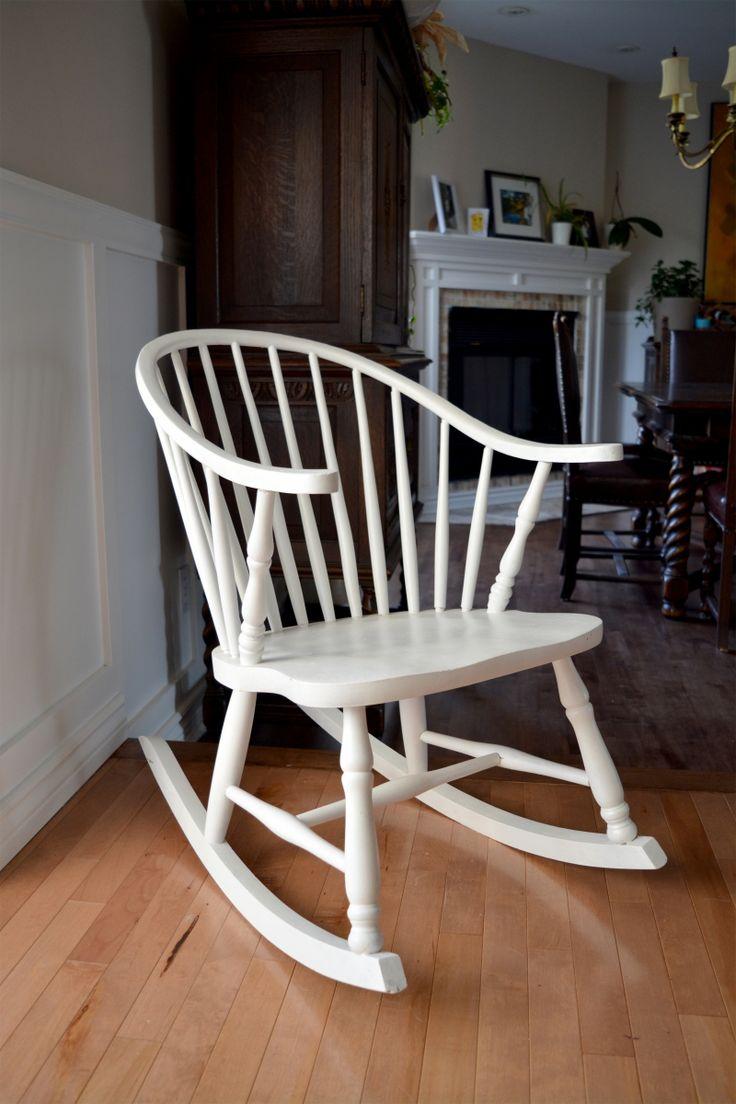 Les 25 meilleures id es de la cat gorie chaises windsor for Chaise bercante antique