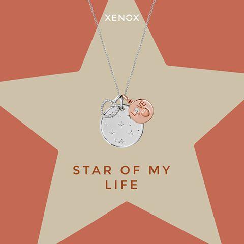 """Ein kleines Dankeschön für die, die dich früher immer mit """"Weißt du wieviel Sternlein stehen....."""" in den Schlaf gesungen hat  #XENOX #necklace"""