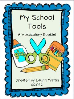 Classroom Freebies Too: School Vocabulary
