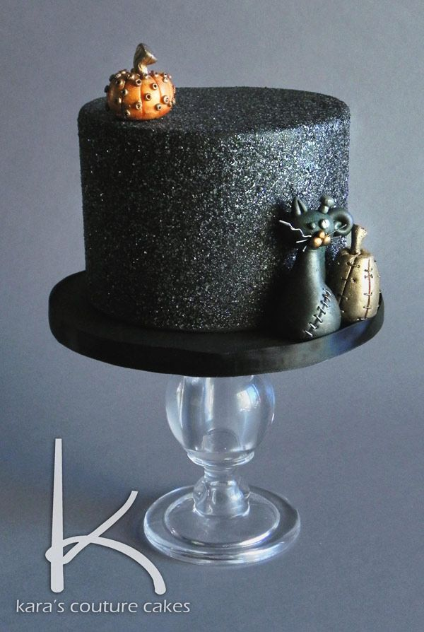Steampunk Halloween Cake by Kara's Couture Cakes