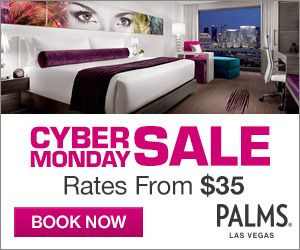 Palms Casino Resort Limited Time Cyber Sale! Cyber Monday Deals With Rooms  Starting At $35