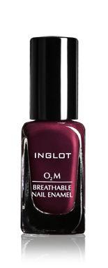 Inglot Cosmetics - Nails - O2M Nail Enamel - 637 | Water-permeable nail polish