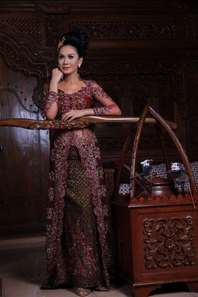Really amazing design kebaya modern dress 2016
