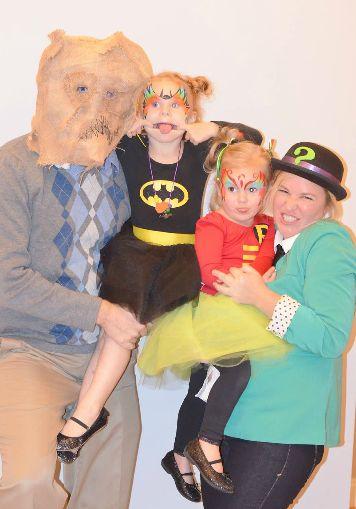 DIY Batgirl and Robin Girl Costumes!