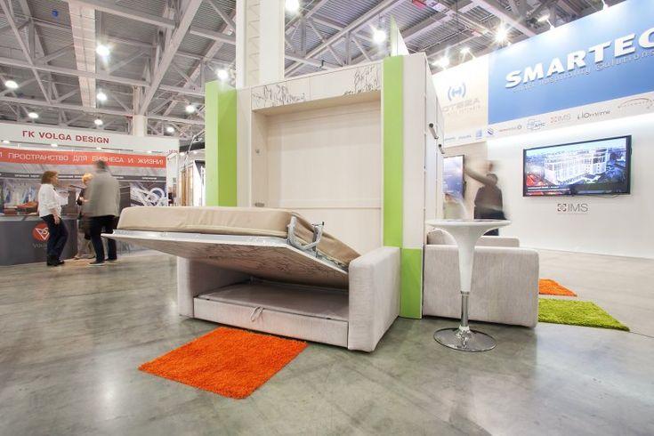 Шкаф кровать трансформер 3 в 1. Умная мебель экономящая пространство в квартире (37 фото + 1 видео)