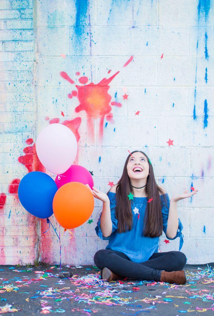 SENIOR PICTURES -- DOWNTOWN HOUSTON #art #streetart #balloons #graffiti #street #graff #swan #floats #urban #wallart #spraypaint #aerosol #spray #wall #mural #murals #painting #arte #Houston #seniors #seniorpictures #colorful  #streetphotography #buildinggraffiti #graffitiart