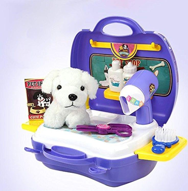 Der Spielzeugtester hat das Set Friseur Hund im Koffer angeschaut und empfiehlt … – Spielzeugtester