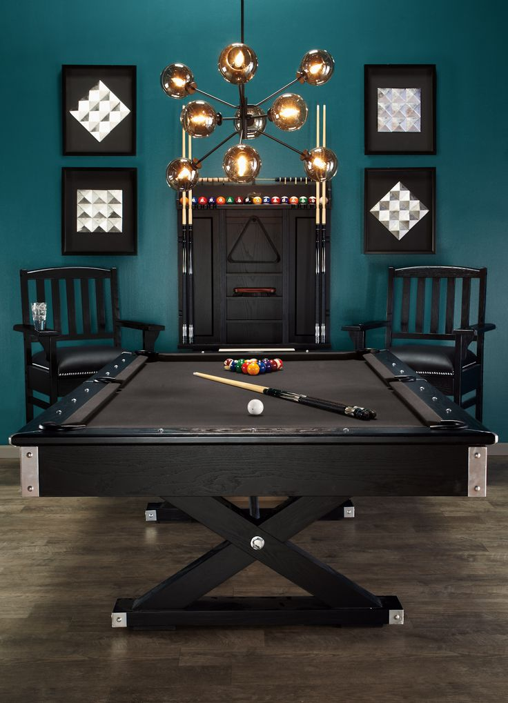 jaxxon pool table rack from z gallerie