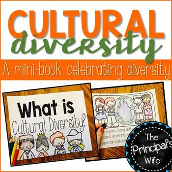This print and go mini-book will teach your students all about cultural diversity!  Your students will learn the definition of culture and what things help to create each culture.  Each page has illustrations that will help your students better grasp the concepts.