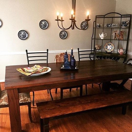 We Spy Our Rio Table In The Dining Room Of Lmacedo311 Share Your Arhaus Photos With Us Using Arhausinmyhouse Link Bio To Shot