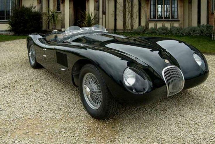 1953 jaguar c type aka xk120 c automobiles pinterest. Black Bedroom Furniture Sets. Home Design Ideas
