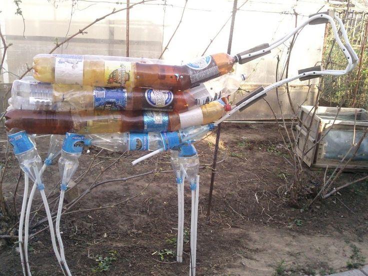 олень из пластиковых бутылок и монтажной пены,мастер класс,мк,садовая фигура для сада,своими руками,обустройство приусадебного участка.декор дачи,садовая скульптура,олень ,поделки из пластиковых бутылок,поделки из монтажной пены,делаем сами,поделки из отходных материалов