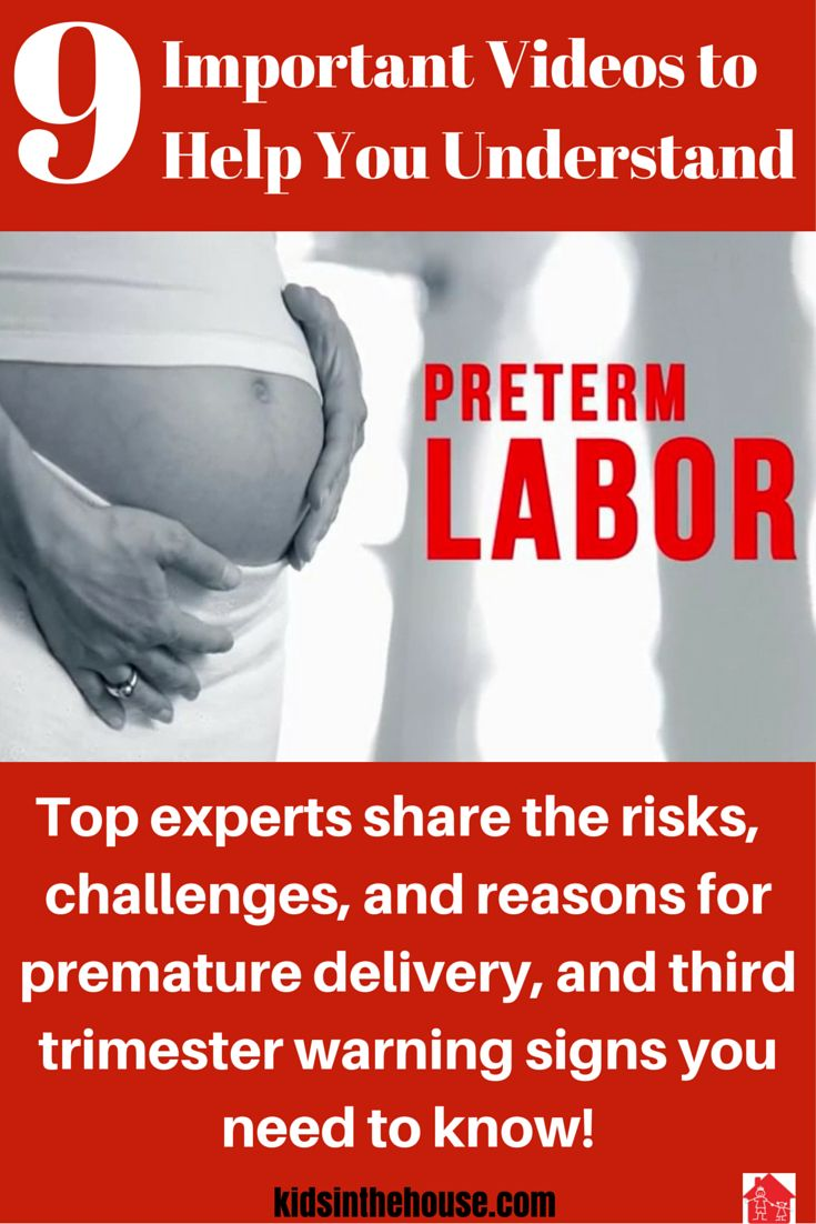 What is Pre-Term Labor? Learn about the risks and reasons why some pregnancies are preterm, how to recognize the warning signs, issues for preterm babies and their mothers and how to improve outcomes. Expert parenting videos from our team of medical doctors, OBGYNs, and pediatric community available through Kids In House Resource Library