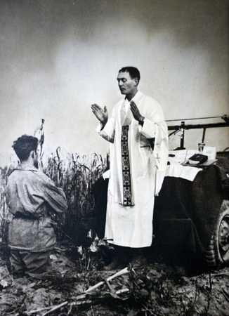 Father Emil Kapaun was a Kansas priest and Korean War hero. He led an extraordinary life and may be on the road to sainthood. He finally received the Medal of Honor that his fellow soldiers worked 60 years to honor him with. Fr Kapaun was the highest decorated chaplain in US military history. He was a true example of giving one's life for others