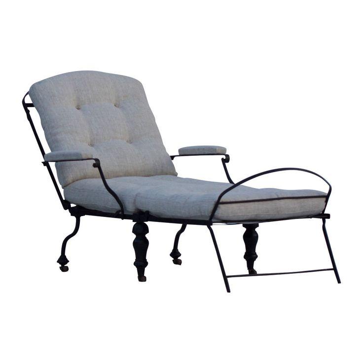 19th Century Metal Campaign Bed/Chair. Fantastic Antique Furniture. Circa 1880.