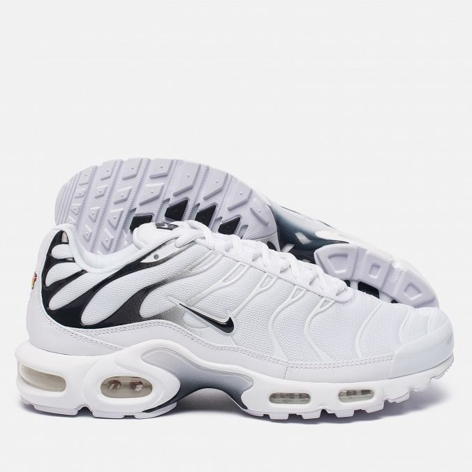 Мужские кроссовки Nike Air Max Plus White/White/Black