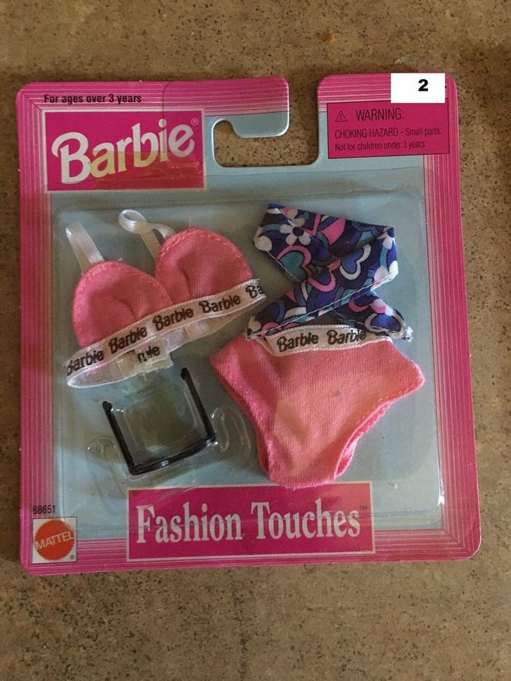 Mattel Barbie fashion touches Lingerie - fits Fashion Royalty dolls (2) #Mattel