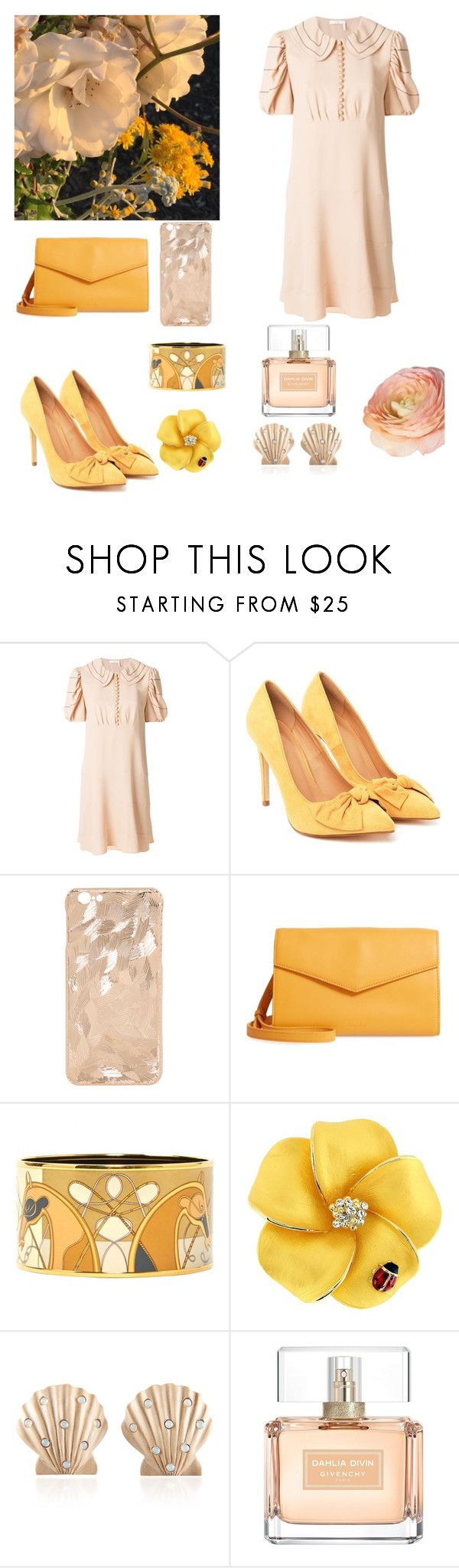 Rose Gold by katherinedanilova on Polyvore featuring Chloé, Nasty Gal, Steven Alan, Hermès, Rebecca de Ravenel, Givenchy and pentatonix