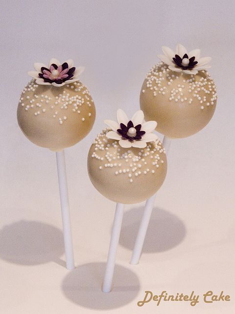 flower cake pops - Google Search