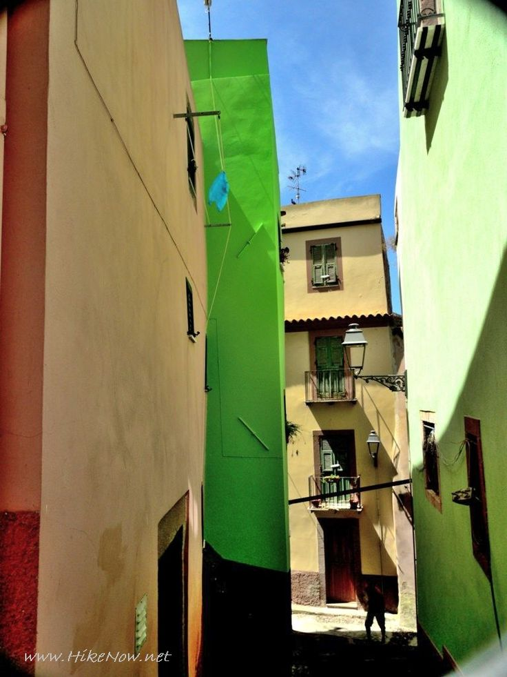 Bosa Sardinia is an exceptionally town of cobbled streets, piazzas, gracious palazzos with wrought iron balconies and modern amenities such as bars, cafes, restaurants - Sardinia