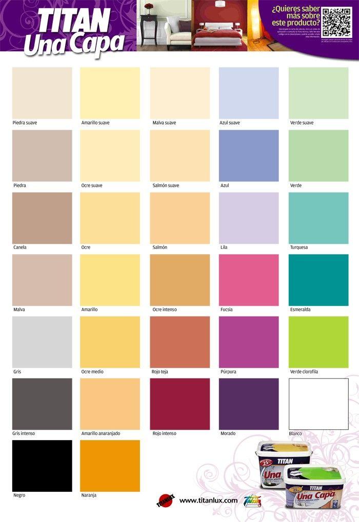M s de 25 ideas incre bles sobre carta de colores pintura - Pinturas paredes colores ...