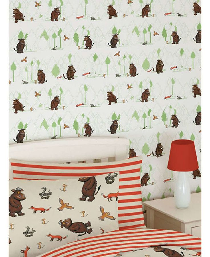 100% official merchandise  Little Gruffalo fans will love the fun design which features the Gruffalo with Mouse, Fox, Owl and Snake on a forest themed green and white background