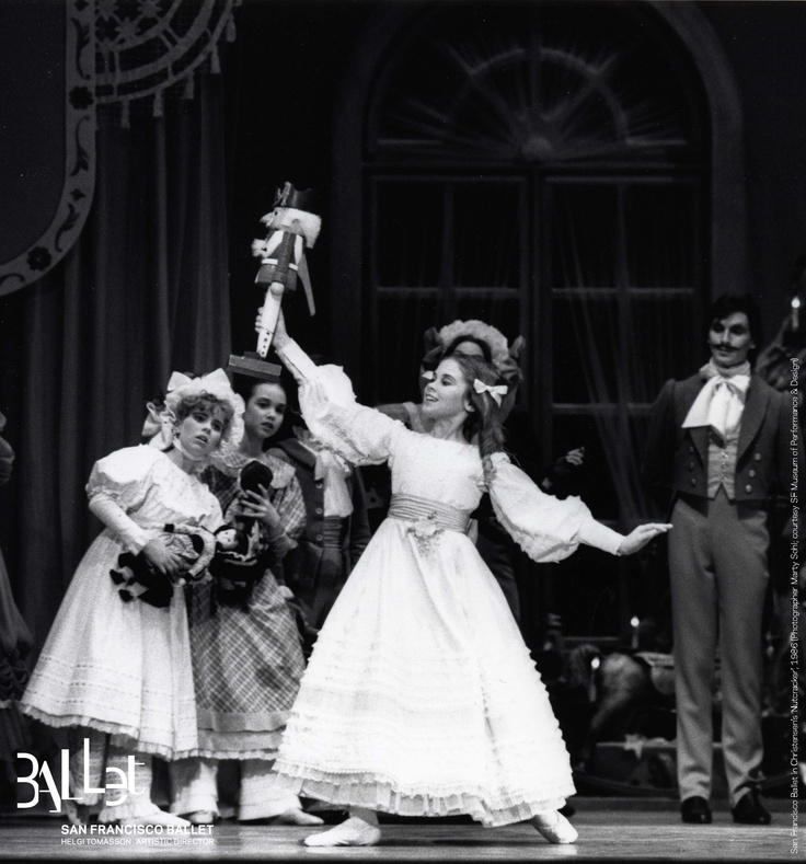 San Francisco Ballet in Christensen's 'Nutcracker', 1986 (Photographer Marty Sohl; courtesy SF Museum of Performance & Design)