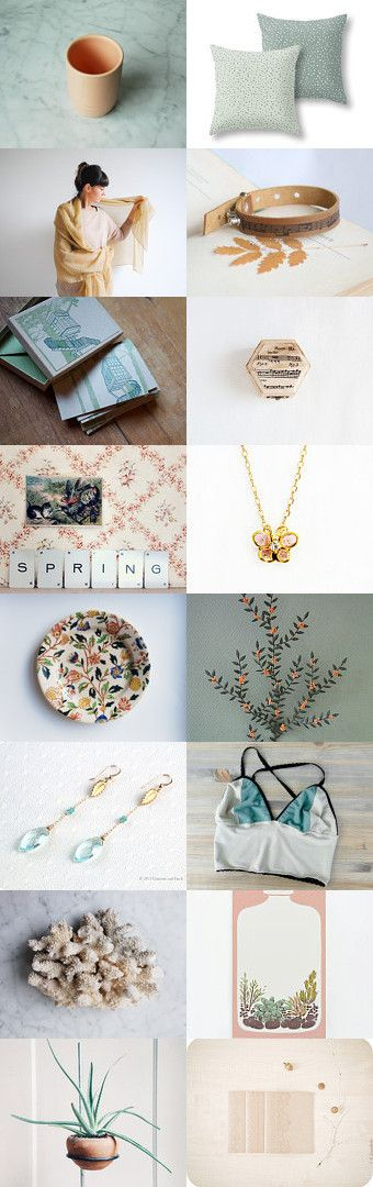 Spring thoughts by whitenoisemaker on Etsy--Pinned with TreasuryPin.com