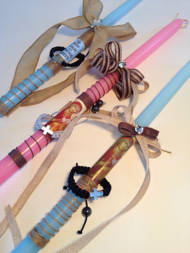 Greek easter candles/easter candles/lambatha/lambada by Zoes4life on Etsy https://www.etsy.com/listing/175436871/greek-easter-candleseaster