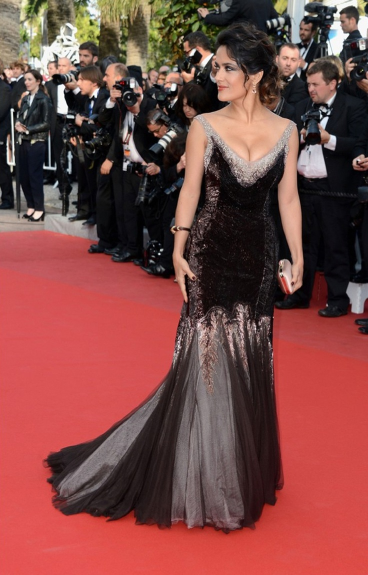 http://geeliciouspassion.wordpress.com/2012/05/21/yes-i-cannes/  #salmaHayek #cannes #gucci #fashion #blog #style #hollywood #actress