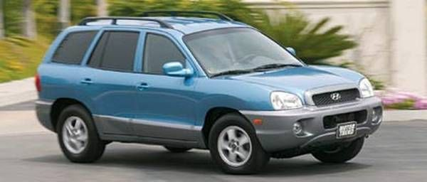 2004 Hyundai Santa Fe-5 speed stick shift!!!