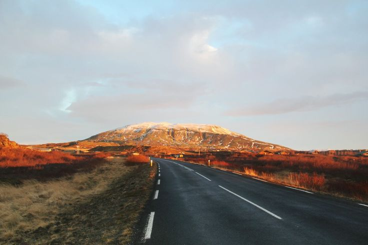 #road #iceland #mountain