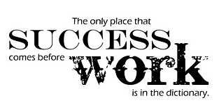"""""""The only place where success comes before work is in the dictionary"""" - Vince Lombardi #quote"""