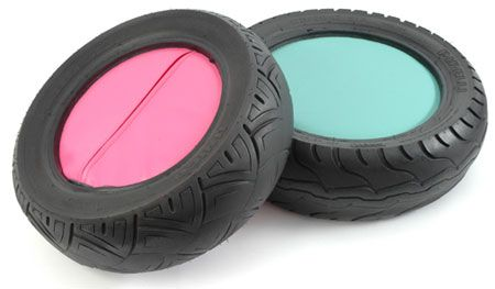 These tyre seats would be great for school.