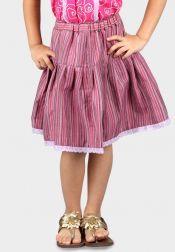 Van Batik  Van Batik Rok Lurik Jepara Pink