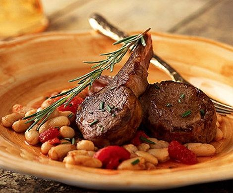 cibo toscano | Tuscan Lamb Chop Skillet Recipe | Food Recipes - Yahoo! Shine