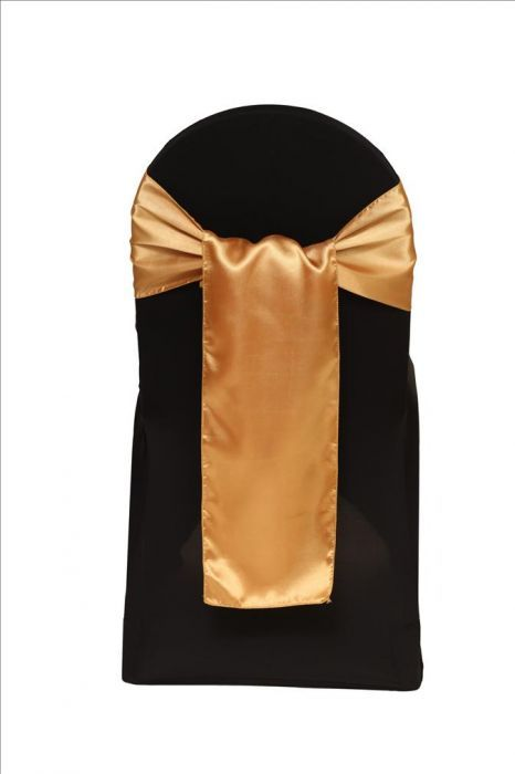 Satin Sash Gold. Satin 8 x 108 inches