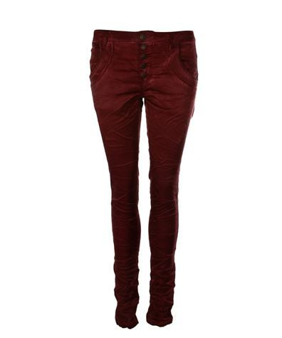Bianco Boyfriend Pants Bordeaux via www.jenterommet.no