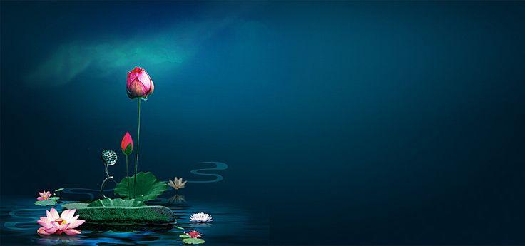 Chinese antiquity background, Chinese Style, Lotus, Background, Background image
