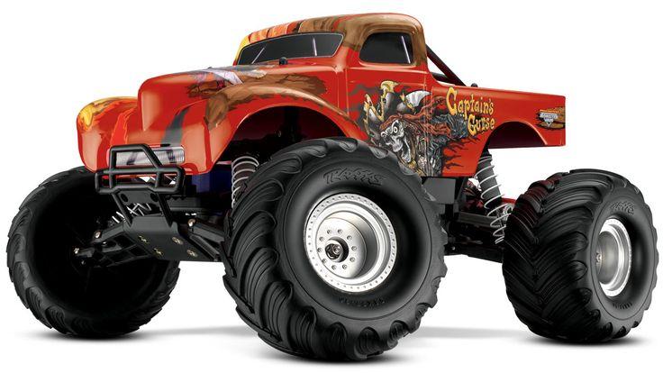 Traxxas Captains Curse Monster Jam Hobbytown Usa Texas