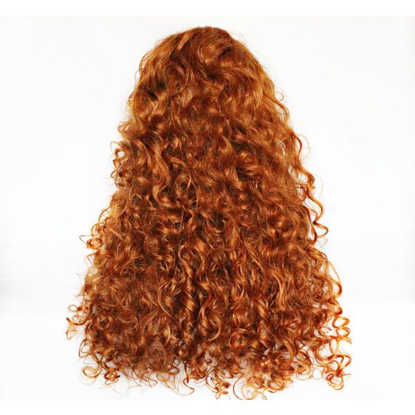 sale Auburn wig, red wig, Long curly red wig, red cosplay wig Lolita... ($94) ❤ liked on Polyvore featuring beauty products, haircare, hair styling tools, red hair care and curly hair care