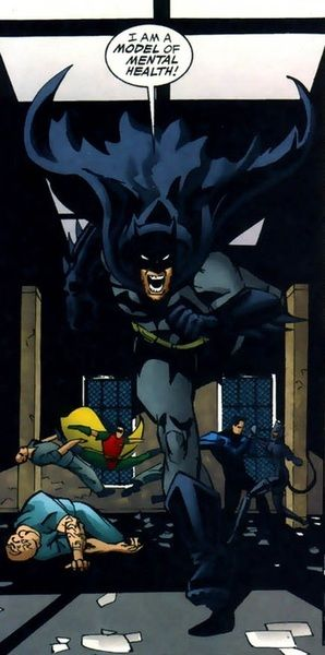 This … this may be the funniest Batman panel I've ever seen.